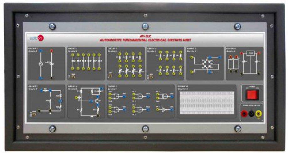 AV-ELC Automotive Fundamental Electrical Circuits Unit