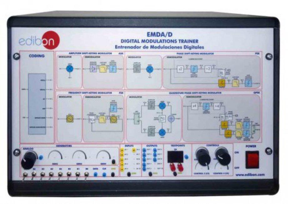 EMDA/D Digital Modulations Trainer