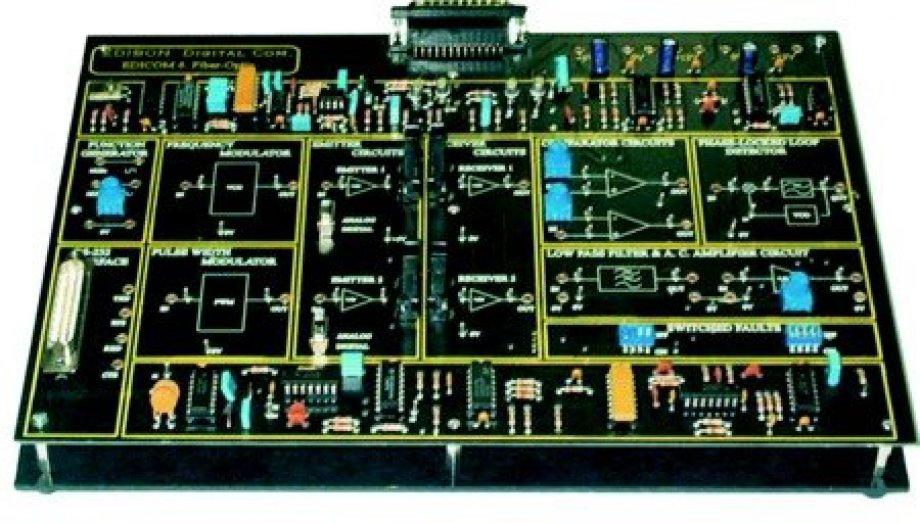 EDICOM6 Optical Fibre Transmission and Reception
