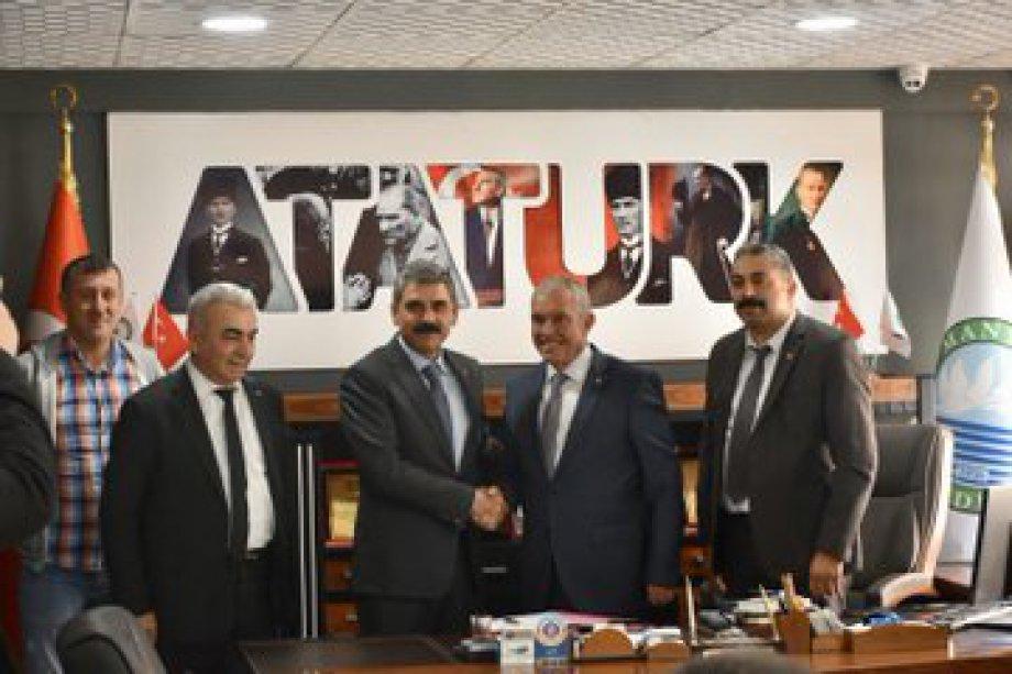 Manyas Belediyesi ile Toplu İş Sözleşmesi İmzaladık