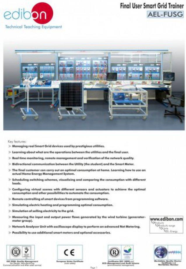 AEL-FUSG Final User Smart Grid System