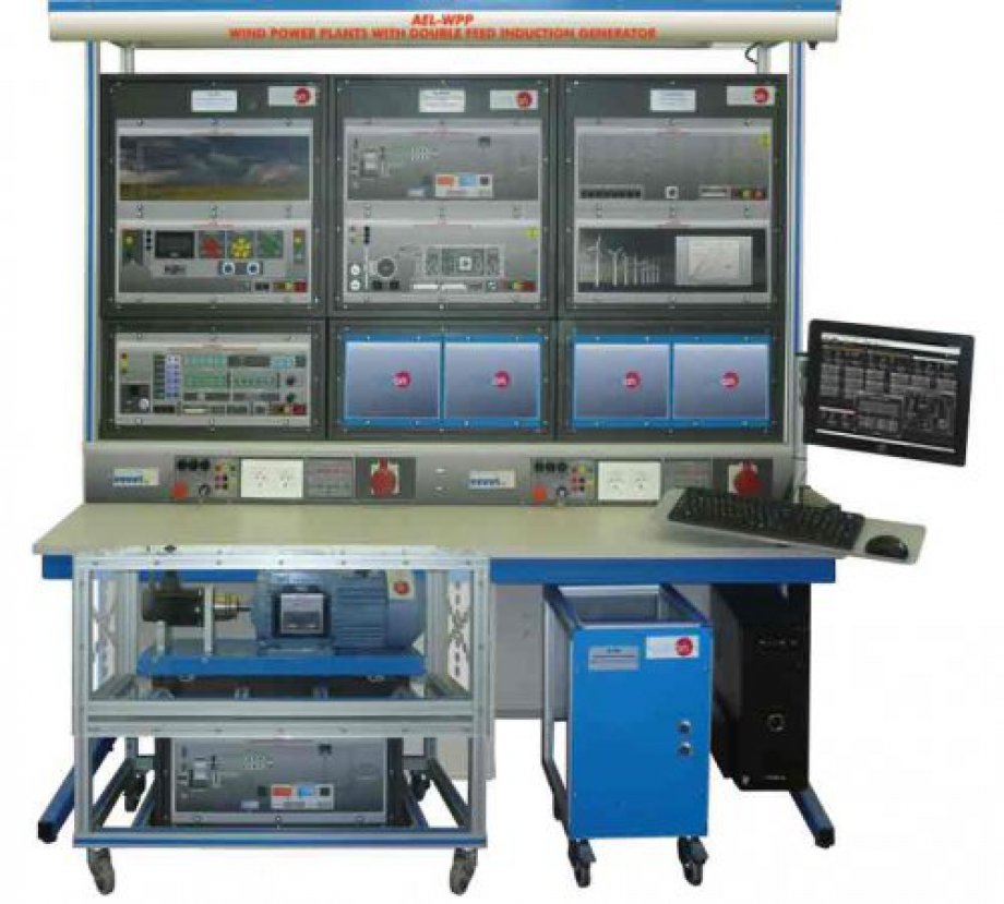 AEL-WPP Wind Power Plants with Double Feed Induction Generator Application