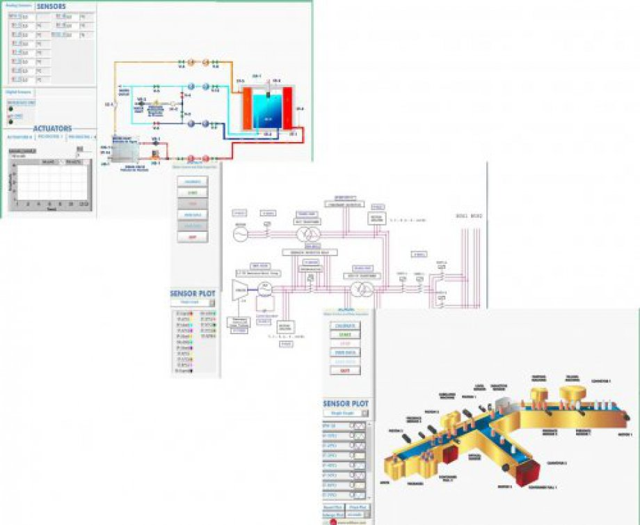 AE-AS Automation System Simulation Software