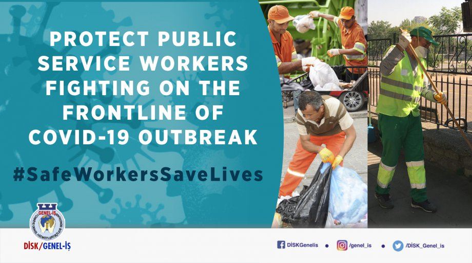 Protect Public Service Workers Fighting on the Frontline of Covid-19 Outbreak