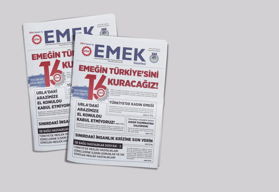 EMEK Gazetesi'nin 164. Sayısı Çıktı