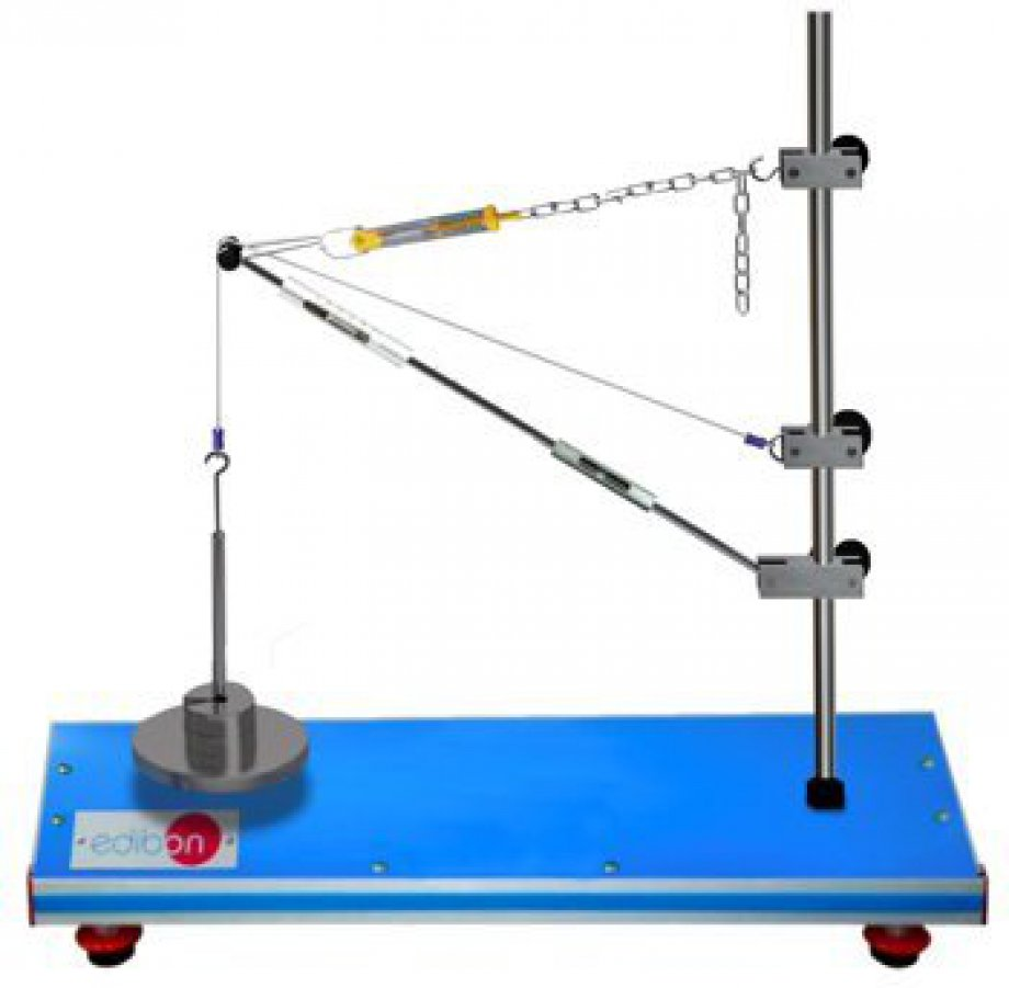 MFPG Unit for studying Forces in a Jib Crane