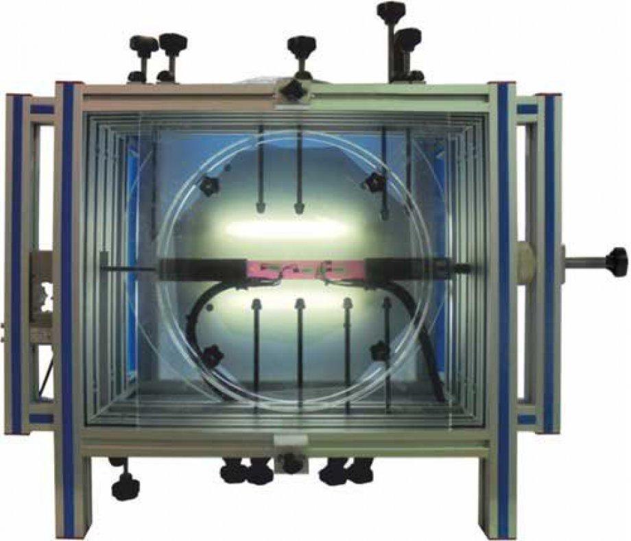 EFOC Photoelasticity Unit with Strain Gauges Measurements System