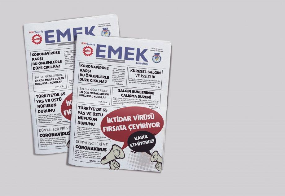 EMEK Gazetesi Covid-19 Özel Sayısı