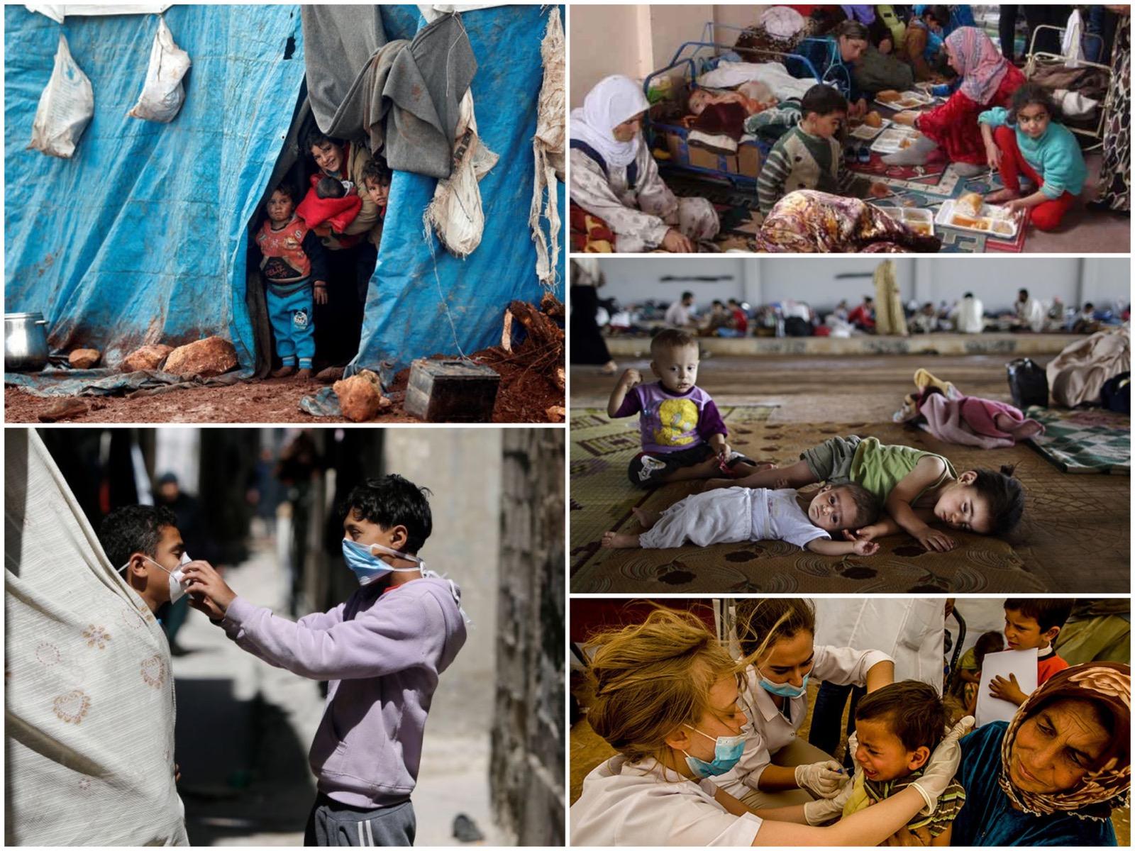 Virüse Karşı Mültecileri Koruyun