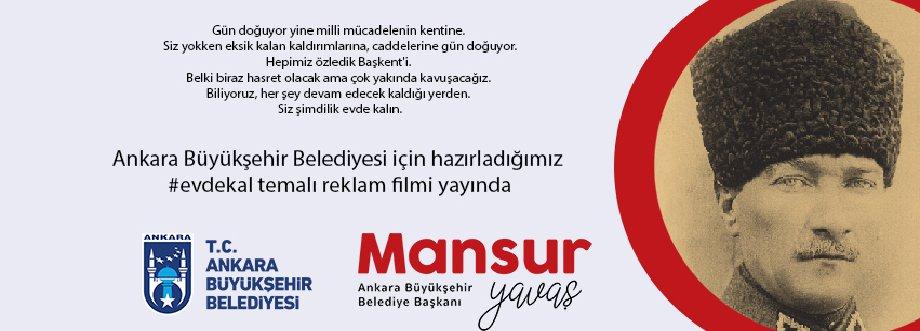 Ankara Büyükşehir Belediyesi Evde Kal Filmi