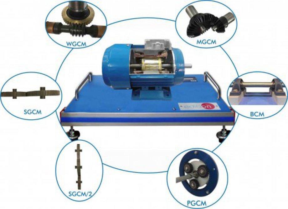 CGCM Unit to Study a Control Gear Cutaway Model
