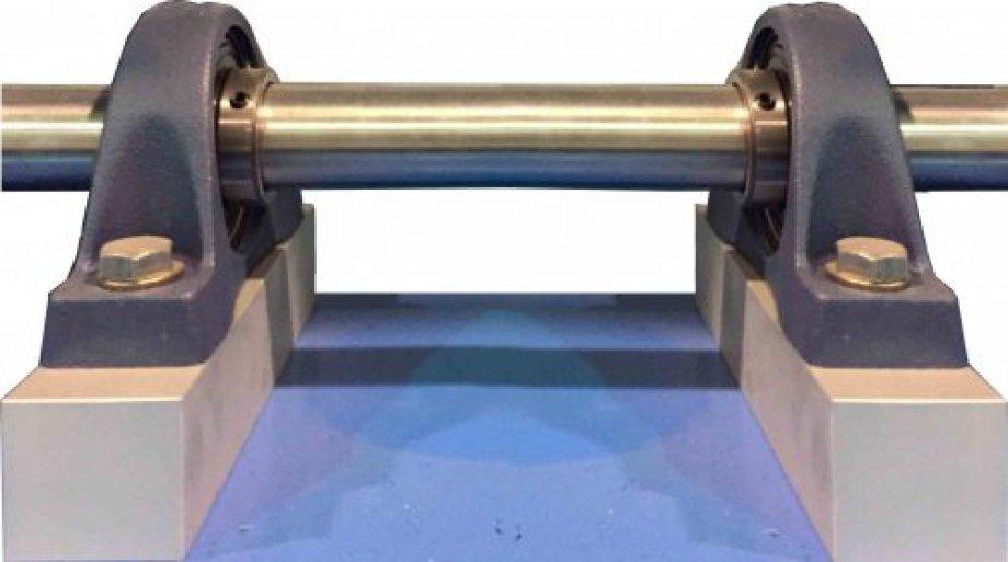 BCM Unit to Study a Bearing Cutaway Model