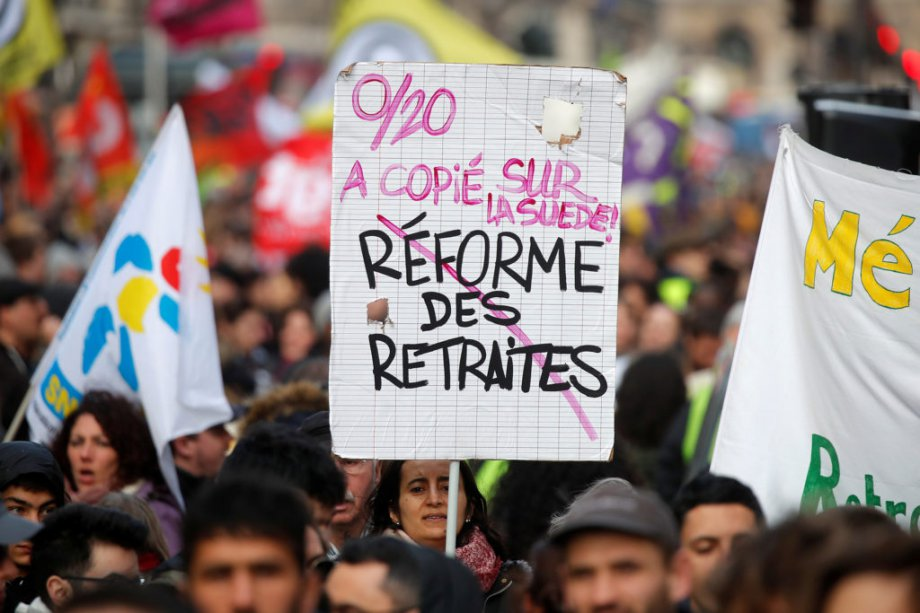 Fransa Emeklilik Reformu: Sendikalar ve Hükümet Karşı Karşıya