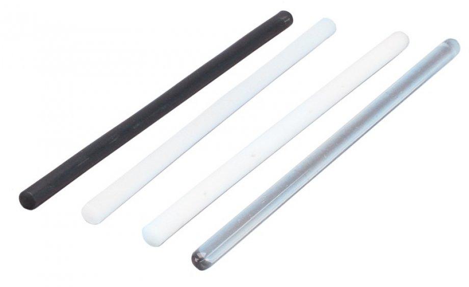 5002 Plexiglas rod. Diameter 12mm length 25mm.