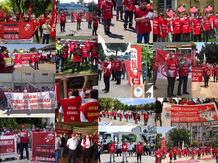 15-16 Haziran İşçi Direnişi Kararlılık ve Mücadele Aşılamaya Devam Ediyor