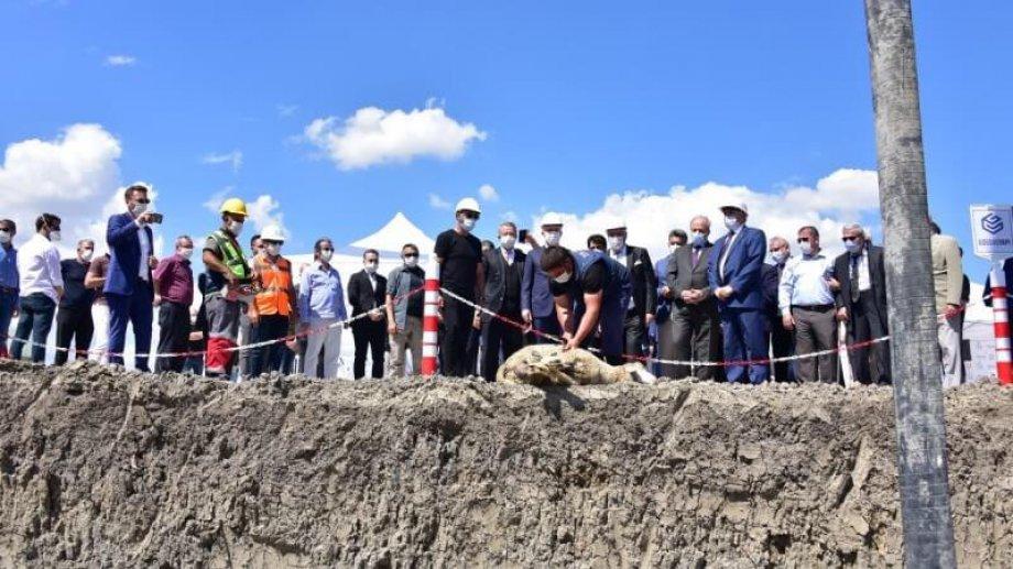 Ankara uzay havacılık ihtisas organize sanayi bölgesi / HAB OSB de yapımını üstelendiğimiz işimizin temel atma töreni gerçekleştirildi