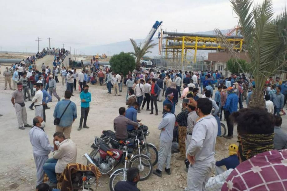 İran Enerji Sektöründe Büyük Grev Dalgası