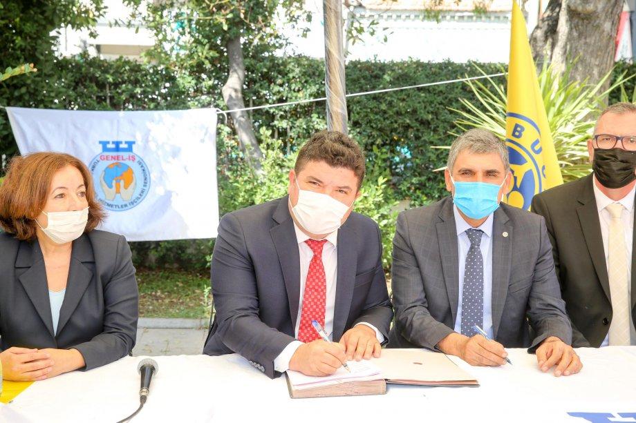 Buca Belediyesi ile Toplu İş Sözleşmesi İmzaladık
