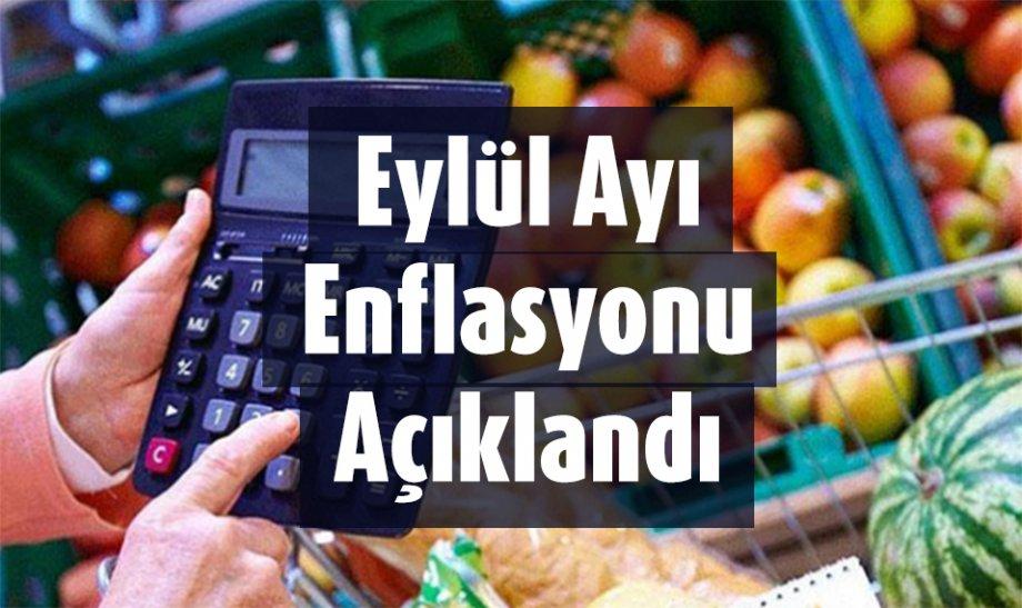 Eylül Ayı Enflasyonu Açıklandı