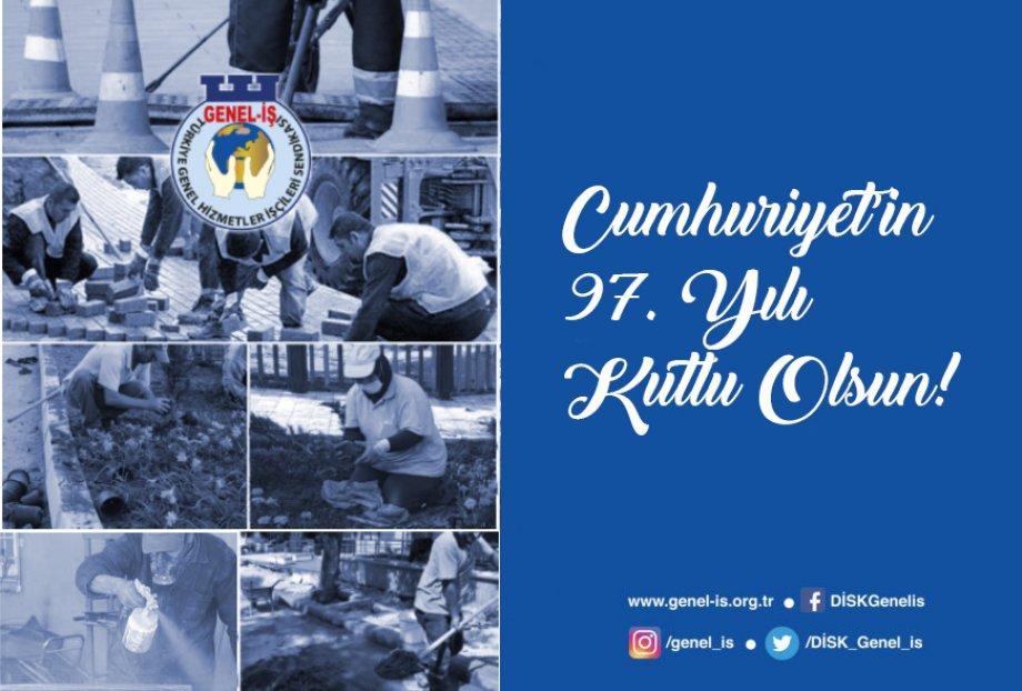 Cumhuriyet'in 97. Yılı Kutlu Olsun!