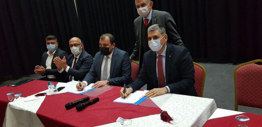 Elmadağ Belediyesi'nde Toplu İş Sözleşmesi İmzaladık