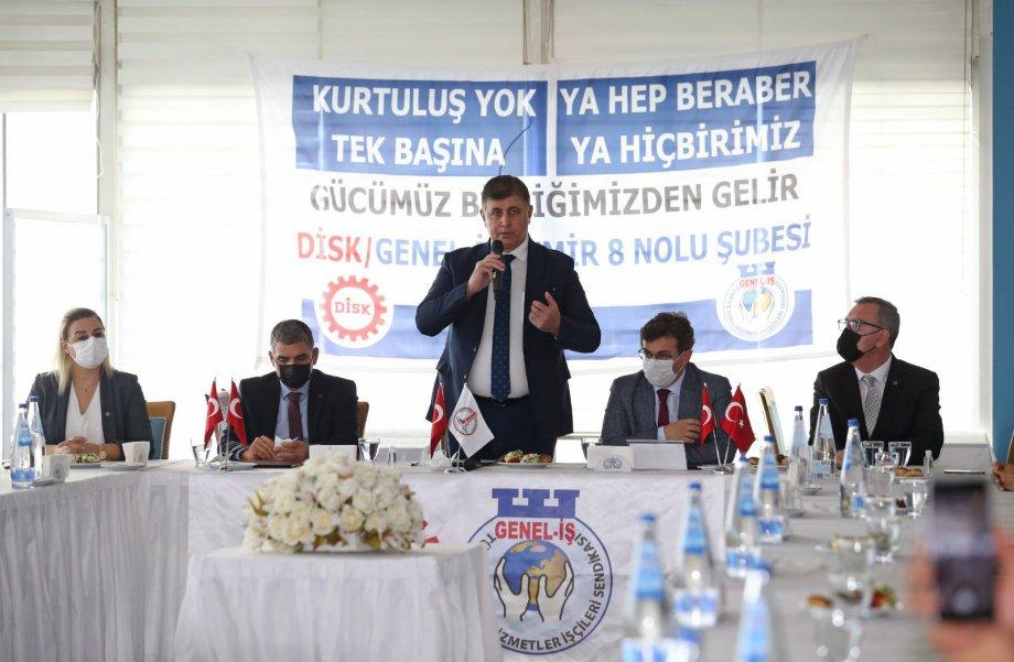 Karşıyaka Belediyesi'nde Toplu İş Sözleşmesi İmzaladık