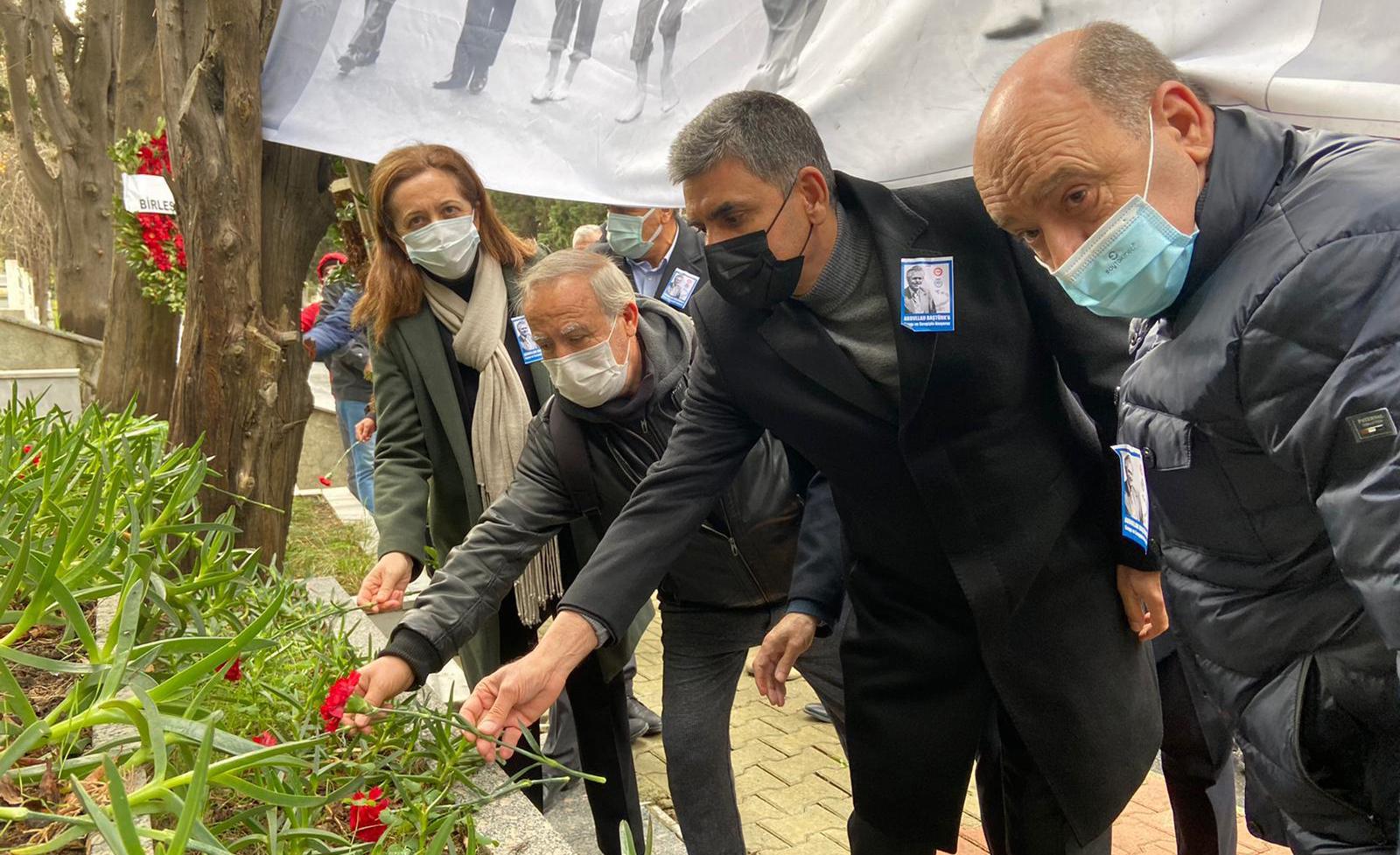 Kurucu Genel Başkanımız ve DİSK Genel Başkanı Abdullah Baştürk'ü Andık