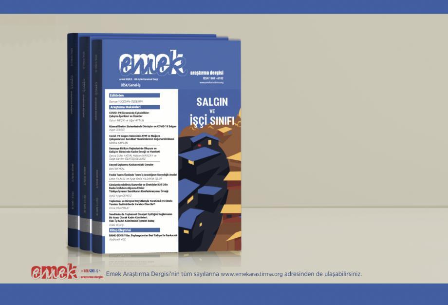 EMEK Araştırma Dergisi ''Salgın ve İşçi Sınıfı'' Temalı Kasım Sayısı