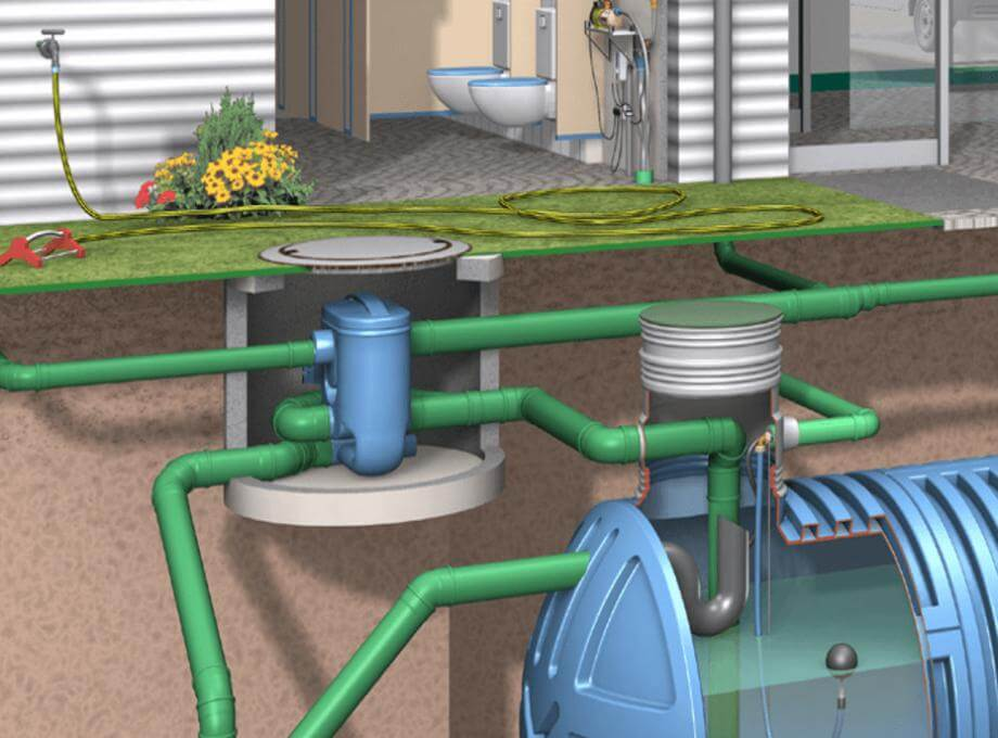 Yağmur Suyu Filtrasyon Üniteleri