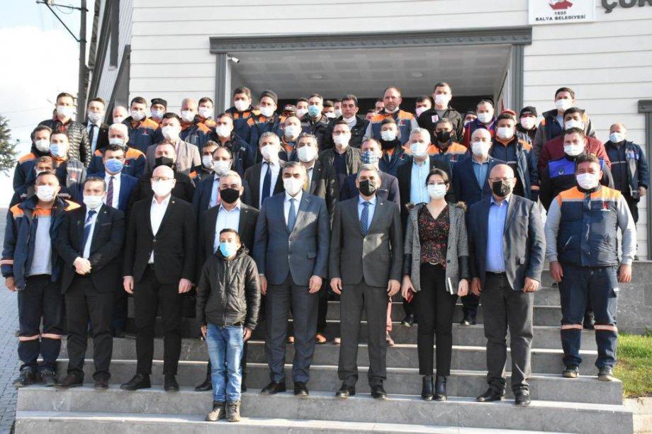 Burhaniye, Edremit, Gömeç ve Balya Belediyelerinde Toplu İş Sözleşmeleri İmzaladık