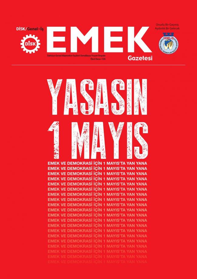 Emek ve Demokrasi İçin 1 Mayıs'ta Yan Yana