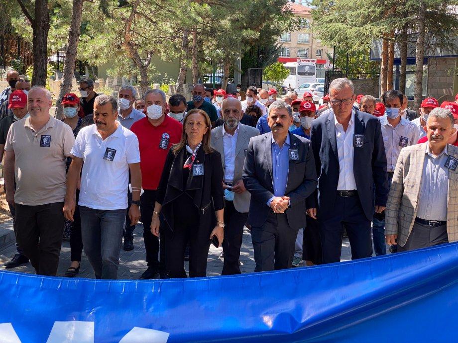 Sendikal Önderlerimiz Mahmut Seren ve İsmail Hakkı Önal'ı Andık