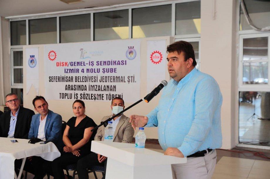 Seferihisar Belediyesi'nde Toplu İş Sözleşmesi İmzaladık