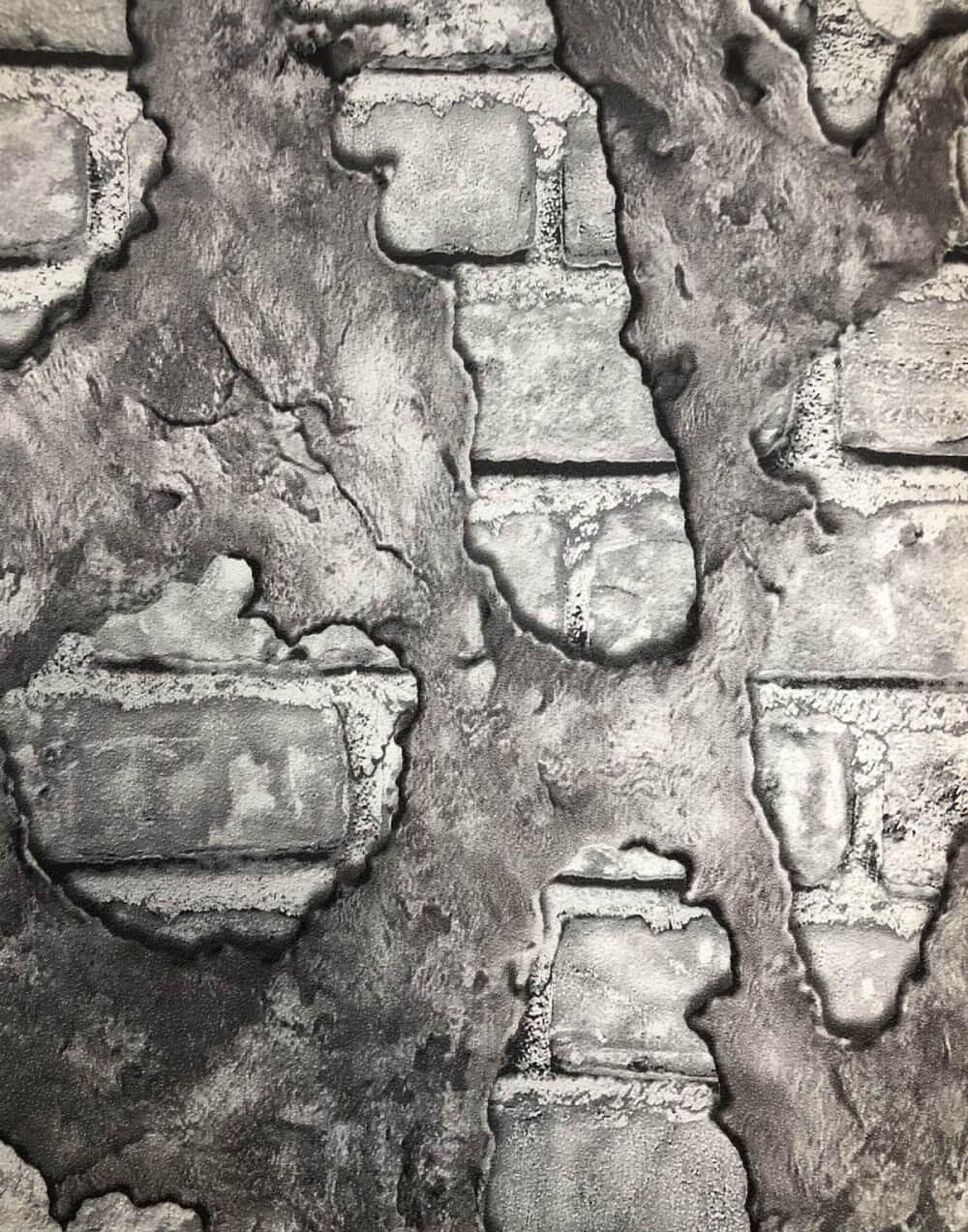 Duvar Tuğla Taşları Desenli 3D Duvar Kağıdı
