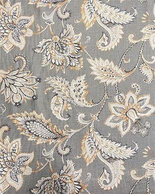 Pamuk Keten Karışımlı Çiçekli Kumaşlar