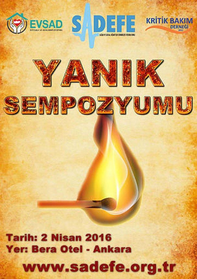 Yanık Sempozyumu, Ankara / 02.04.2016
