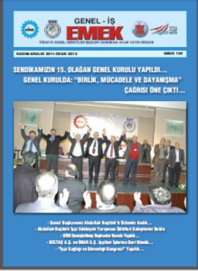 Emek Gazetesi 120. Sayı