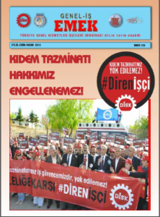 Emek Gazetesi 128.Sayı