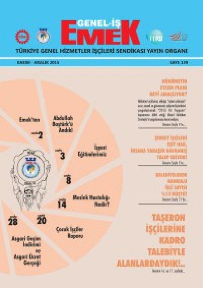 Emek Gazetesi 139. Sayı
