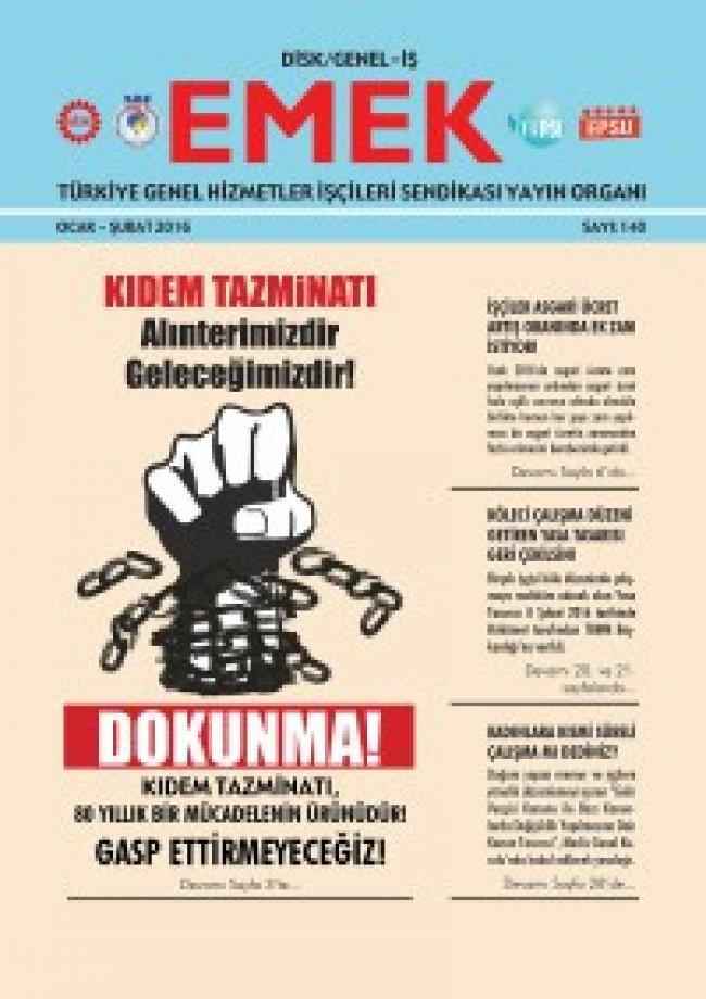 Emek Gazetesi 140. Sayı