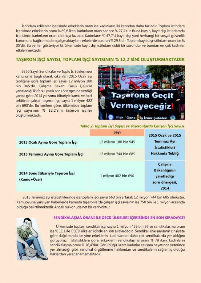 Temel İşgücü İstatistiklerine Göre Türkiye'de İşçilerin %12,2'si Taşeron İşçi