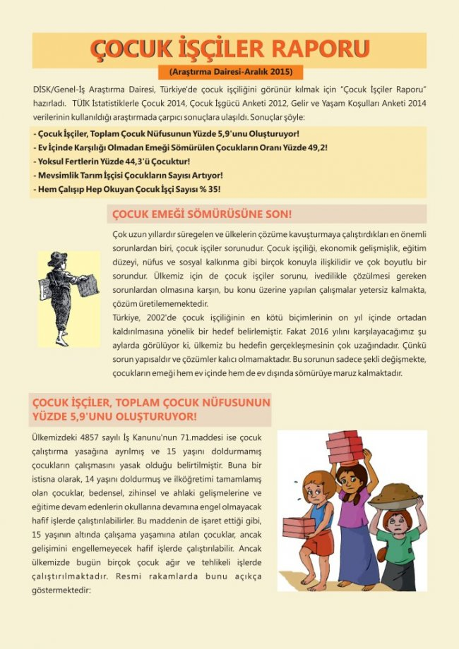 Mevsimlik Tarım İşçisi Çocukların Sayısı Artıyor!
