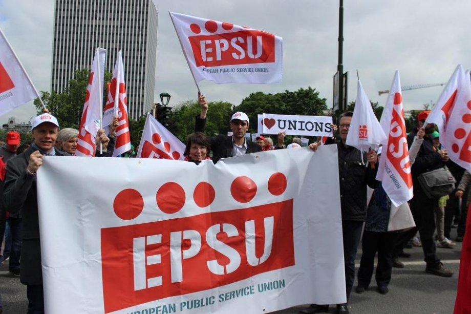 Avrupalı Sendikalar Hakları İçin Sokakta!