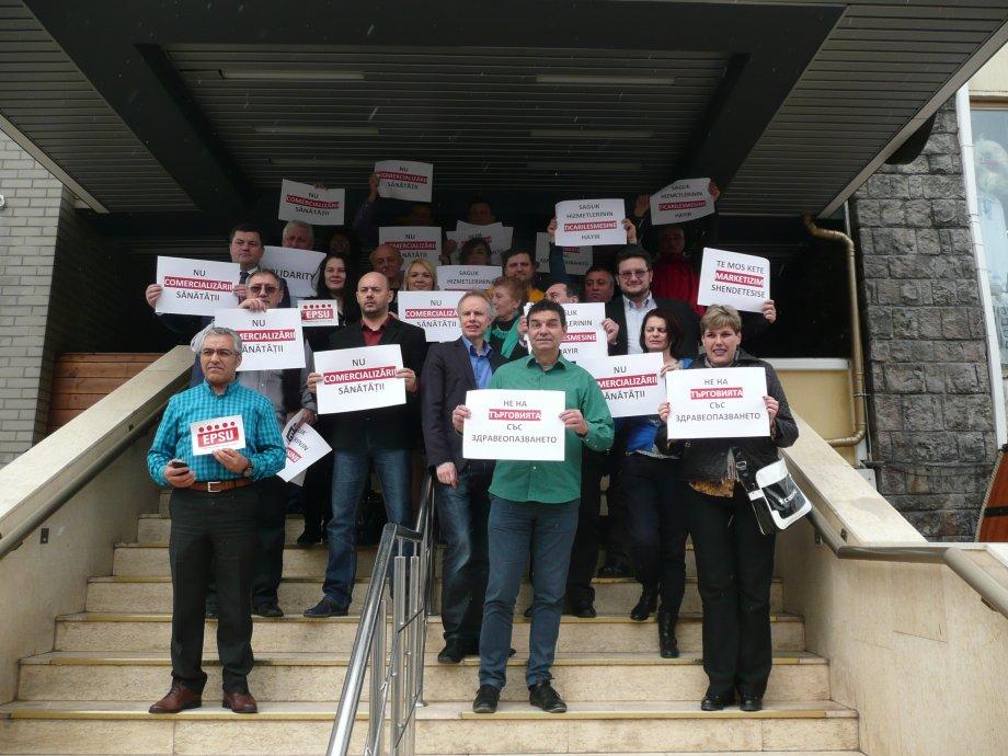 EPSU Güney Doğu Avrupa Sendikaları Romanya'da Bir Araya Geldi