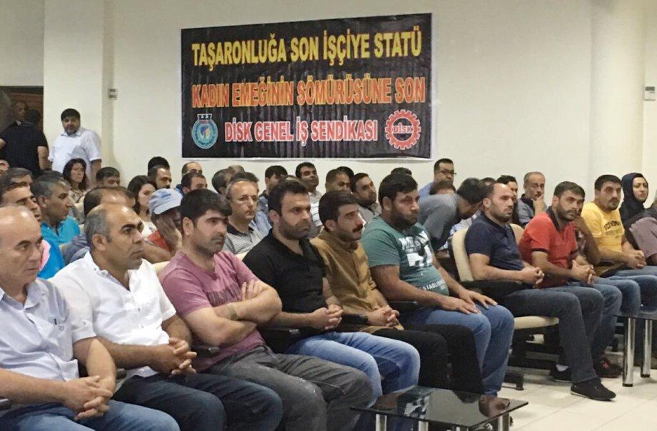 Diyarbakır 2 Nolu Şubemizin Olağanüstü Genel Kurulu Yapıldı