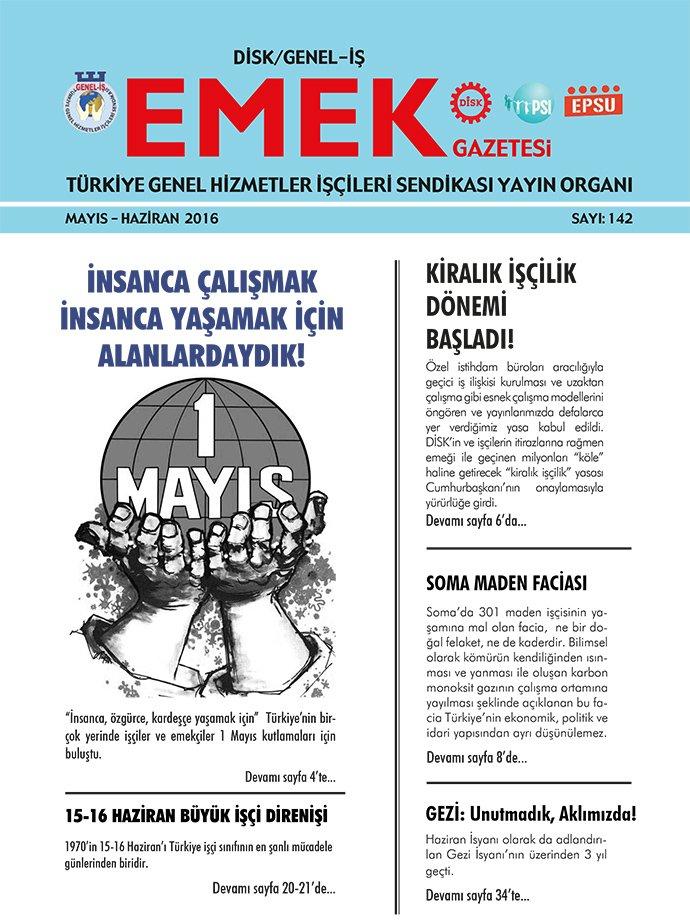 Emek Gazetesi 142. Sayı